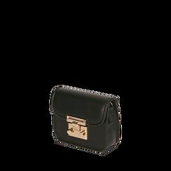 Mini bag nera , Borse, 165123212EPNEROUNI, 002a