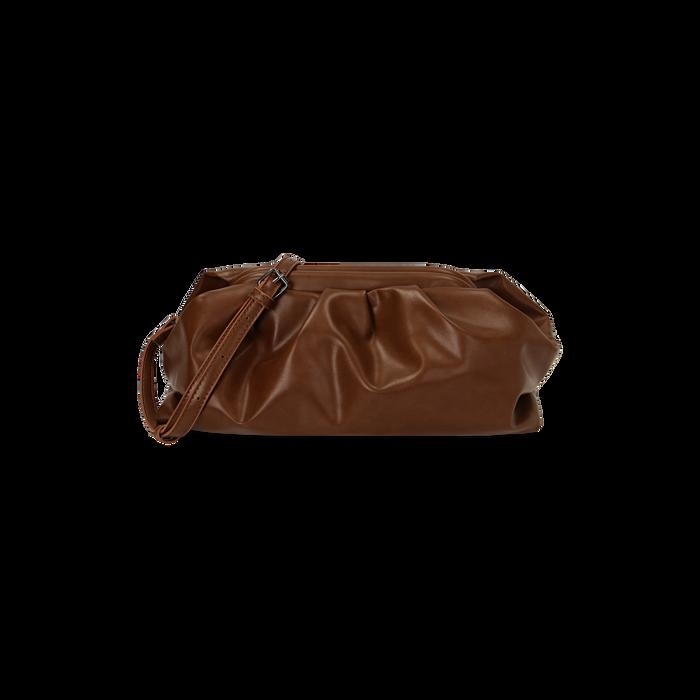 Maxi clutch cuoio, IDEE REGALO, 165122668EPCUOIUNI