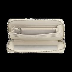 Portafogli bianco stampa cocco, Borse, 155122519CCBIANUNI, 003 preview