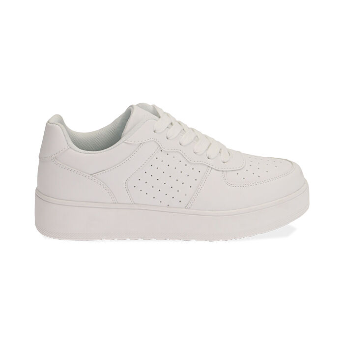 Sneakers bianche , Primadonna, 170101907EPBIAN035