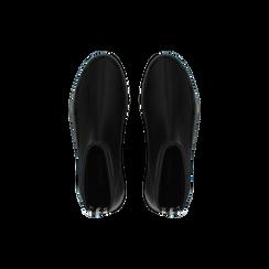 Sneakers nere in lycra a calza con suola in gomma, Scarpe, 121740405LYNERO, 004 preview