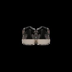 Sneakers Tweed con tacco basso, Primadonna, 122915602TSNEGR, 003 preview