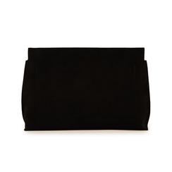Pochette nera in microfibra, Borse, 15D208516MFNEROUNI, 003 preview