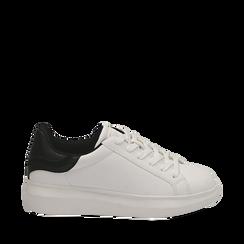 Zapatillas color blanco/negro, Primadonna, 162602011EPBINE037, 001a
