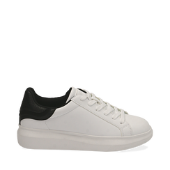 Sneakers blanc/noires , Primadonna, 162602011EPBINE035, 001a