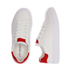 Baskets blanches / rouges, Chaussures, 172621209EPBIRO035, 003 preview