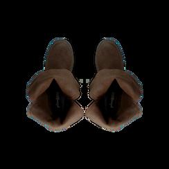 Stivaletti con Fibbie e Borchie - Biker Boots, Scarpe, 12A700272MNMARR, 004 preview