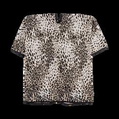 Poncho leopard, Abbigliamento, 12B409676TSLEOP, 005 preview