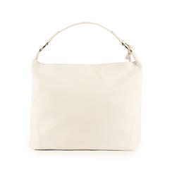 Maxi-bag de ecopiel en color blanco, Bolsos, 153783218EPBIANUNI, 003 preview