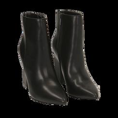 Ankle boots neri, tacco 10 cm , Primadonna, 164822754EPNERO035, 002a