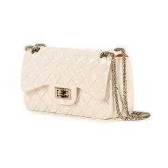 Mini-bag matelassé bianca in pvc, Borse, 15C809988PVBIANUNI, 004 preview
