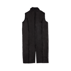 Gilet Eco-Montone Donna Nero, Saldi, 12B400701MFNERO, 006 preview