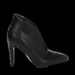 Ankle boots neri, tacco 10,50 cm , Primadonna, 162123746EPNERO036, 001a