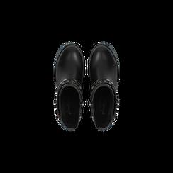 Stivaletti Chelsea neri con fascia elastica, Primadonna, 120618215EPNERO, 004 preview