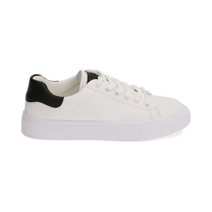 Sneakers bianco/nere, Scarpe, 172621209EPBINE035