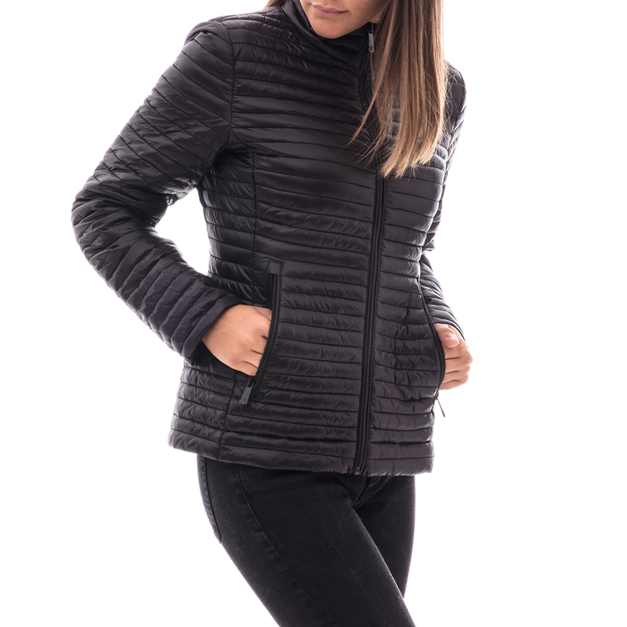 Piumino nero in nylon, Abbigliamento, 148500573NYNERO3XL