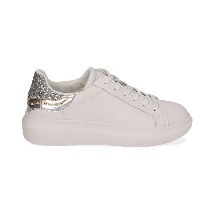Baskets blanc / argent, Chaussures, 172602011EPBIAR035