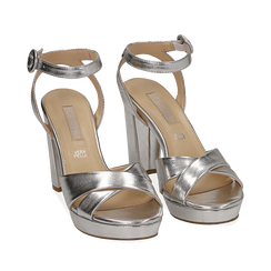 WOMEN SHOES SANDAL LAMINATED ARGE, Chaussures, 152118585LMARGE036, 002a