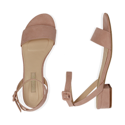CALZATURA FLAT MICROFIBRA NUDE, Chaussures, 154819193MFNUDE037, 003 preview