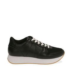 Sneakers nere, Primadonna, 177519501EPNERO035, 001a