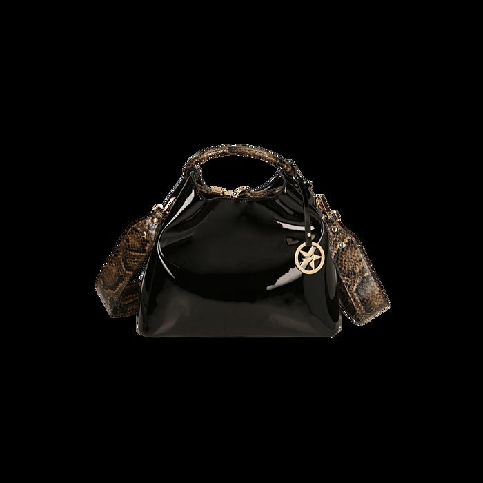 Bolsa negra en charol, GIFT IDEAS, 16D200052VENEROUNI