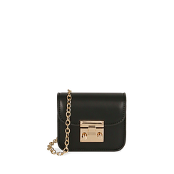 Mini bag nera , Primadonna, 165123212EPNEROUNI, 001a