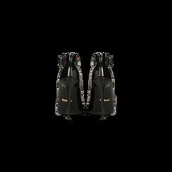 Décolleté nere vernice con cinturino, tacco stiletto 11 cm, Scarpe, 122182062VENERO, 003 preview
