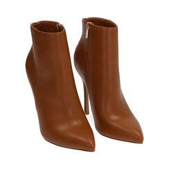 Ankle boots cognac, tacco 11 cm, Primadonna, 172146816EPCOGN035, 002 preview