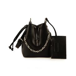 Mini secchiello nero , Borse, 152327401EPNEROUNI, 001 preview