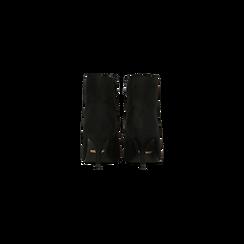 Tronchetti neri scamosciati, tacco medio 4 cm, Scarpe, 122707332MFNERO, 003 preview