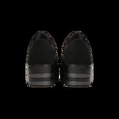 Sneakers nere suola platform multistrato, Primadonna, 122818575MFNERO035, 003 preview