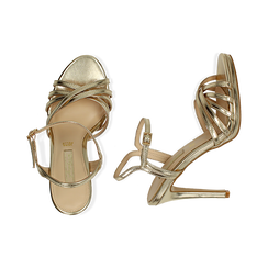 WOMEN SHOES SANDAL LAMINATED OROG, PROMOTIONS, 152174020LMOROG036, 003 preview