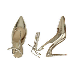 WOMEN SHOES CHANEL LAMINATED OROG, Primadonna, 152120715LMOROG036, 003 preview