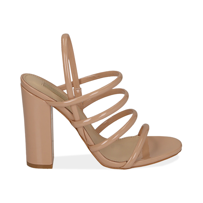 WOMEN SHOES SANDAL EP-PATENT NUDE, PROMOTIONS, 152760849VENUDE038