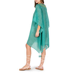 Caftán de tela verde, Primadonna, 150500006TSVERDUNI, 002 preview