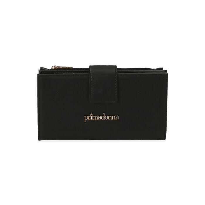 Portafogli nero , Primadonna, 185122158EPNEROUNI