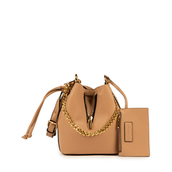 BAG SMALL BAG ECO-LEATHER BEIG, Bolsos, 152327401EPBEIGUNI, 001a
