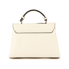 Mini bag bianca in eco-pelle, Borse, 155700372EPBIANUNI, 003 preview