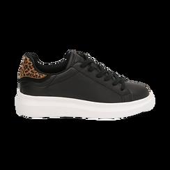 Sneakers nero/leopard , Primadonna, 162602011EPNELE036, 001 preview