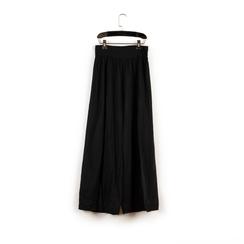 Pantaloni neri in tessuto paisley print, Primadonna, 150500269TSNEROUNI, 003 preview