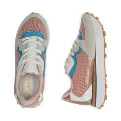 Sneakers rosa in tessuto tecnico , Primadonna, 177519601TSROSA035, 003 preview