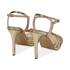 WOMEN SHOES SANDAL LAMINATED OROG, PROMOTIONS, 152174020LMOROG036, 004 preview