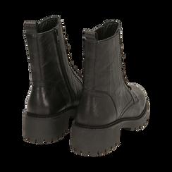 Amphibiens noirs en cuir, Primadonna, 169404101PENERO037, 004 preview