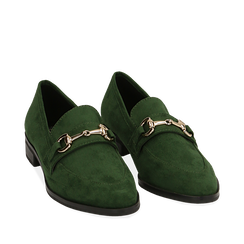 ZAPATOS MOCASIN MICROFIBRA VERD, Chaussures, 164964141MFVERD035, 002a