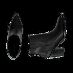 Camperos neri, tacco 8 cm , Primadonna, 162708151EPNERO037, 003 preview
