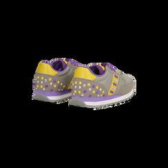 Sneakers grigie color block, Primadonna, 122618834MFGRIG035, 005 preview