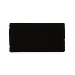 Pochette noir en microfibre, Sacs, 155108717MFNEROUNI, 003 preview