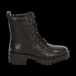 Amphibiens noirs en cuir, Primadonna, 169404101PENERO037, 001 preview