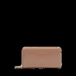 Portafoglio nude in ecopelle vernice , Saldi, 122200896VENUDEUNI, 001a