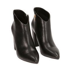 Ankle boots neri, tacco 9,5 cm , Primadonna, 174916101EPNERO036, 002 preview